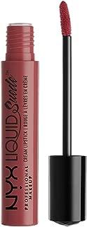 NYX Cosmetics Liquid Suede Cream Lipstick, Soft-Spoken Mauve Nude