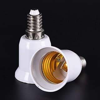 E14 To - 5pcs E14 To E27 Base Screw Light Lamp Bulb Holder Adapter Socket Converter Flame Retardant Pbt - Adapter Lightbulb Holder Converter Lamp Holder Converters Plug Socket Bulb Lampholder Spl