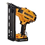 BOSTITCH 20V MAX Finish Nailer Kit, Angled, 15GA (BCN650D1)