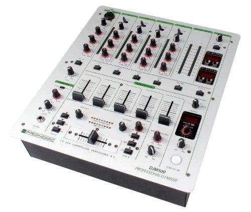 Pronomic DJM500 - Mesa de mezclas de DJ, 5 canales