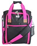 17' Personal Item under seat duffel for the airlines of American, Frontier, Spirit, (Pink)