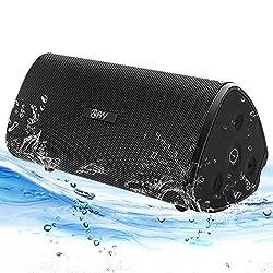 【Un Son Puissant HD à Super Bass】: Deux haut-parleurs de 15 W avec deux diaphragmes de radiateur de basses passifs sur les côtés, combinés à la technologie audio stéréo DSP pour obtenir un son stéréo à 360°à couper le souffle avec des basses profonde...
