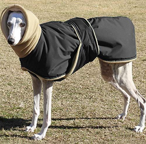 Idepet Abrigo de Invierno para Perros, Chaqueta para Perros, Chaleco para Perros a Prueba de Viento, Ropa con Cuello cálido, Sudadera con Capucha para Perros pequeños, medianos y Grandes