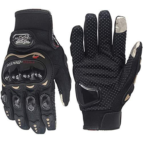 Sécurité Gants de Moto pour Hommes et Femmes Palm Gants en Cuir pour Le Ski d'hiver de Patinage Courir Gants de Marche Antidérapante (Size : M)