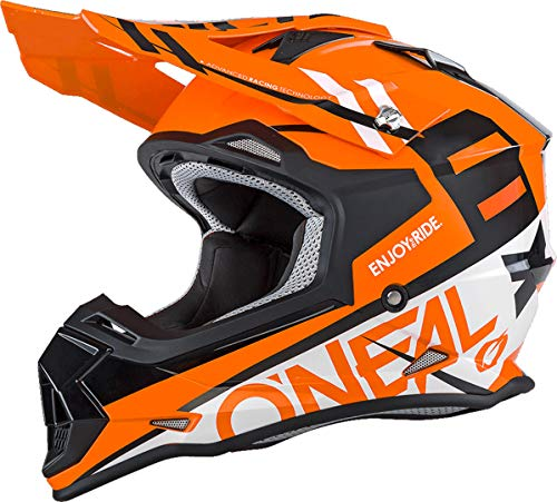 Oneal 2 Series RL Spyde - Casco de Motocross, Orange White