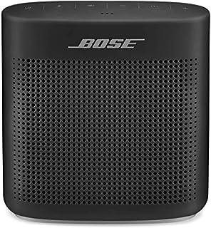 Ottima tecnologia Bose per un suono elevato da un diffusore compatto e impermeabile Microfono per vivavoce integrato per nitide chiamate personali e teleconferenze con portata wireless di circa 30 metri Robusto e maneggevole, grazie al morbido rivest...