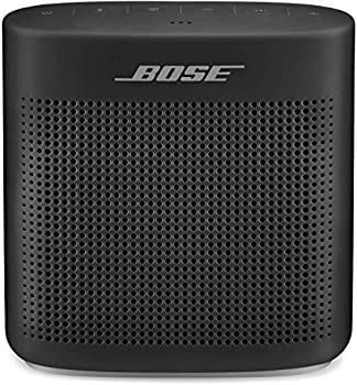Bose SoundLink Color II  Portable Bluetooth Wireless Speaker with Microphone- Soft Black