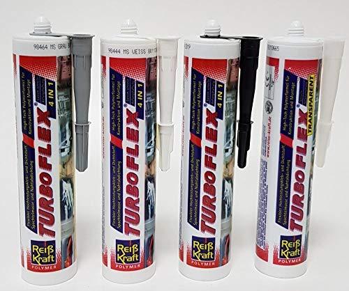 Reiß Kraft Turboflex 4in1 Kleb-& Dichtstoff 290 ml Montagekleber Baukleber (290 ml, Weiß)