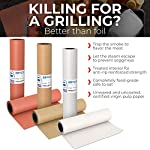 Kraft Butcher Paper roll - Long 24 inch x 175 feet (2100 inch) - Great Smoking Wrapping Paper for Meat of All Varieties… 4