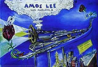 Amos Lee Poster w/Vusi Mahlasela F1083 Fillmore