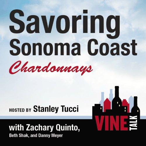 『Savoring Sonoma Coast Chardonnays』のカバーアート