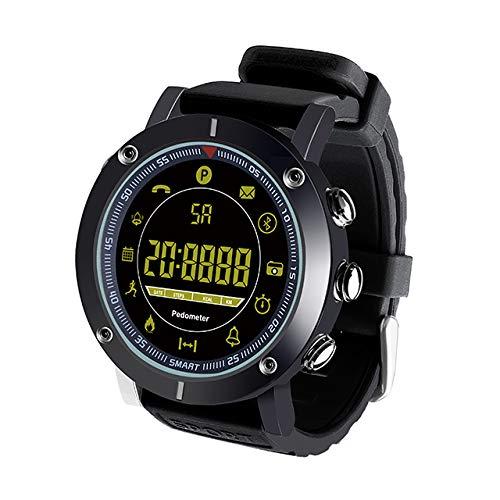 KDSFJIKUYB Smart Watch Sport Smart Horloge Metalen Lichaam Volledige Weergave Lichtgevende Wijzerplaat Smartwatch 5ATM Waterdichte Stappenteller Fitness Lange Standby