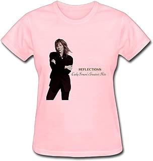 Carly Simon Reflections Carly Simon's Greatest Hits Women's Cotton Short Sleeve T-Shirt