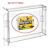 Childhood 10Pcs Clear Protective Box Case Display Sleeve Protector for Nintendo 3DS Games Cartridge Box