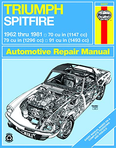 TRIUMPH SPITFIRE 1962-1981 (Service & repair manuals)