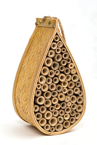 SKOOLIX Outdoor Garden Bee House and Insect Home ~ Ideal Habitat for...