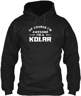 Awesome kolar Family Name t Shirt Sweatshirt - Gildan 8oz Heavy Blend Hoodie