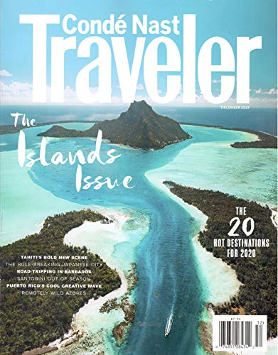 Conde Nast Traveler Magazine (December, 2019) The Islands Issue