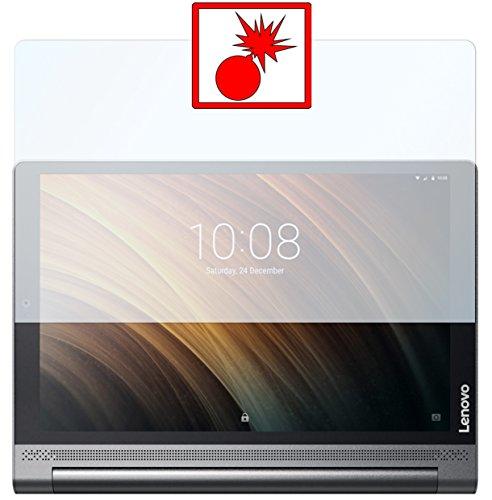 Slabo 2 x Protector de Pantalla blindado para Lenovo Yoga Tab 3 Plus 10''Shockproof A Prueba de Golpes Invisible Made IN Germany