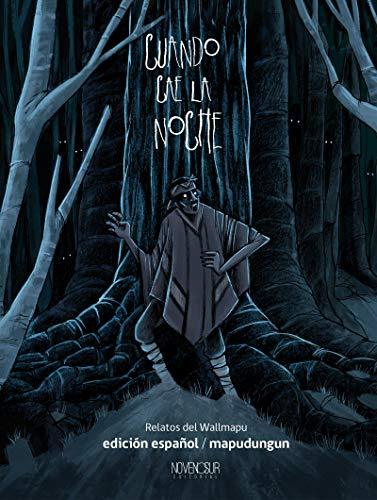 Book's Cover of CUANDO CAE LA NOCHE, Relatos del Wallmapu: EDICIÓN ESPAÑOL - MAPUDUNGUN Versión Kindle