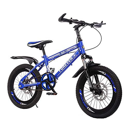 HUAQINEI 18 20 Pulgadas, Bicicleta al Aire Libre para niños, para niños y niñas de 7 a 14 años, Bicicleta de montaña Ajustable para niños