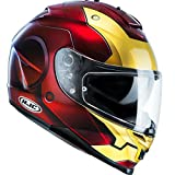 casco iron man moto