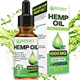 ✔ Pure Hemp Oil: 1000 mg Hemp Oil in a 1oz 30mL dropper bottle | This natural peppermint mint flavored hemp oil is made from the green hemp plant including the seeds, stalks, and more in order to attain all the best healthy nutrients of this medicina...