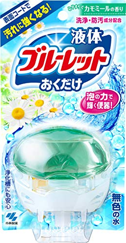 液体ブルーレットおくだけ トイレタンク芳香洗浄剤 本体 心やすらぐカモミールの香り 70ml