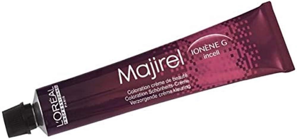 Crema para el cabello Majirel 4,0, de LÓréal; color castaño medio intenso, 50 ml