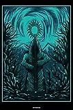 Notebook: Tarot Notizbuch Tarotkarten Journal Kartenlegen Buch Spirituelle Energy Geschenk
