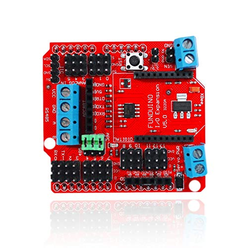 Un known Standard I/O Expansion Shield V5 Xbee Sensor Shield RS485 V5 for Arduinos Funduino Board Module Accessory Electronic Accessories
