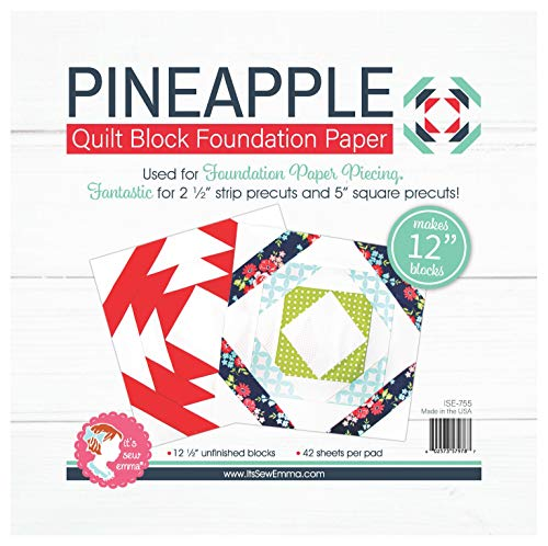 Pineapple Foundation Paper 12 inch