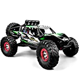 GizmoVine RTR Hobby Remote Control Car 1:12 Scale 4WD RC Car 60+KM/H High Speed Racing Truck, Brushless 2.4 GHz Radio Controlled Cars with 1 Rechargeable Batteries, 4x4 Off-Road RC Monster Trucks
