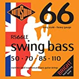 Rotosound Stainless Steel Heavy Gauge Roundwound Bass Strings (50 70 85 110)