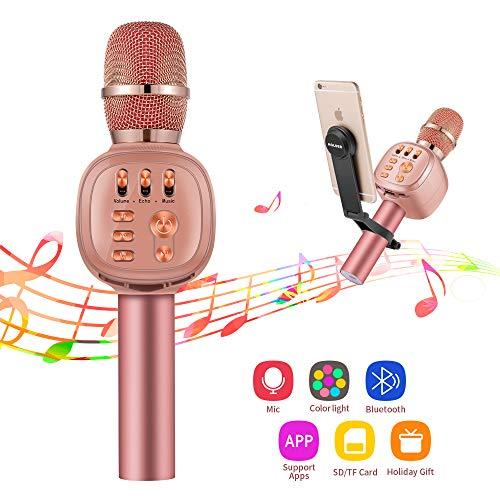 Beschoi Micrófono Inalámbrico Karaoke...