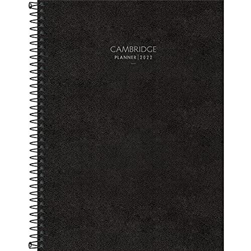 Agenda planner executiva espiral semanal Cambridge 2021 - Tilibra