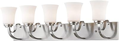 Amazon.com: Progress Lighting P2713 Luz para tocador de ...