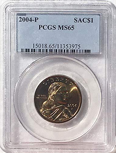 2004 P Sacagawea Dollar MS 65 Blue Label PCGS