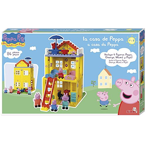 Peppa Pig–The New Home, Construction Game (Simba 6063439)