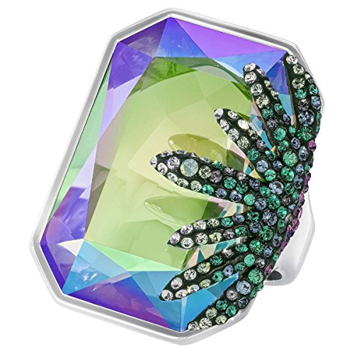 Swarovski Damen-Ring Kristall Mehrfarbig Gr. 54 (17.2) - 5266285