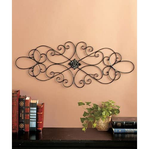 Metal Scroll Wall Decor Amazon Com