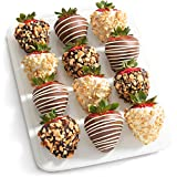 Nuts About Chocolate Covered Strawberries - 12 Berries