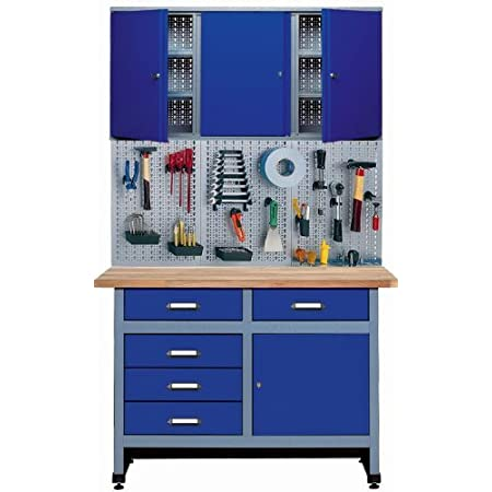 Küpper Sparset 70424-7 - Banco de trabajo (120 cm) color azul