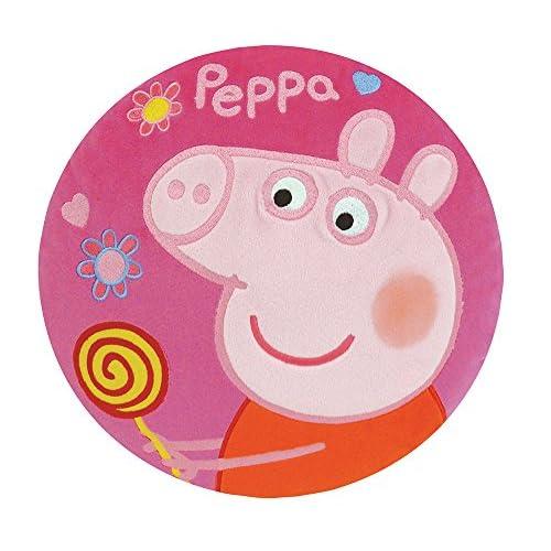 Jemini Fun House 712295 - Cuscino Rotondo, Motivo: Peppa Pig