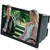 GFHJ1201 Screen Phone 3D Magnifier, HD pantalla del teléfono móvil Amplifier, 8 pulgadas pantalla retráctil inicial vídeo Film Enlarger proyector