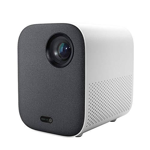 Mini Proyector Portátil Proyector Compacto 1080P 4K Video 500 ANSI Lumens Mount Proyección HDR10 2.4G 5G WiFi 2GB + 8GB Proyector Portátil Para Cine En Casa 220V Proyector De Cine En Casa