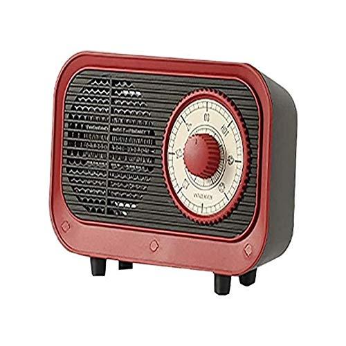 ZJX-F Kleiner tragbarer Heizlüfter, Raumheizung, Keramikheizung, elektrische Heizung, mit verstellbarem Thermostat, verwendet im Büro, Desktop, Zuhause Schlafzimmer