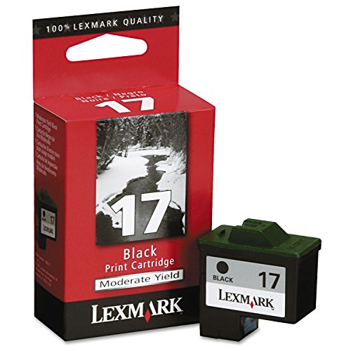 Lexmark 10N0217 cartucho de tinta - Cartucho de tinta para impresoras (Negro, i3; - X74; - X75; - X1100; - X2200; - Z13; - Z23; - Z25; - Z33; - Z35; - Z500; - Z600, Inyección de tinta)