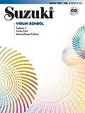 Suzuki Violin School, Volume 1: Violin Part, Book & CD: International Edition