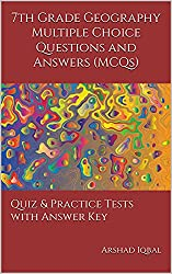 Geography MCQs - Grade 7 Geography Quiz Questions - MCQs Answers